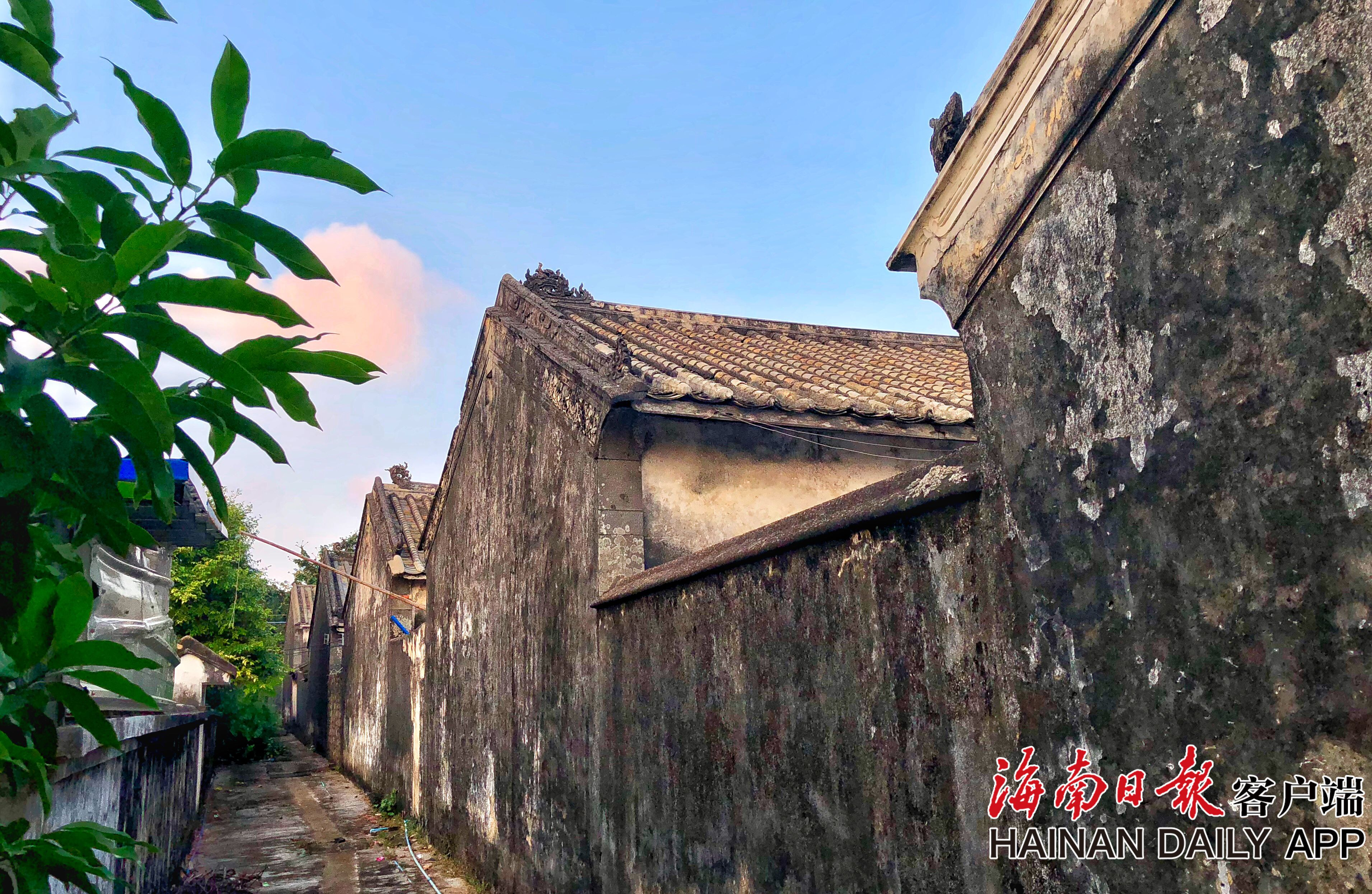 组图|海口:知名侨乡林市村古色古香
