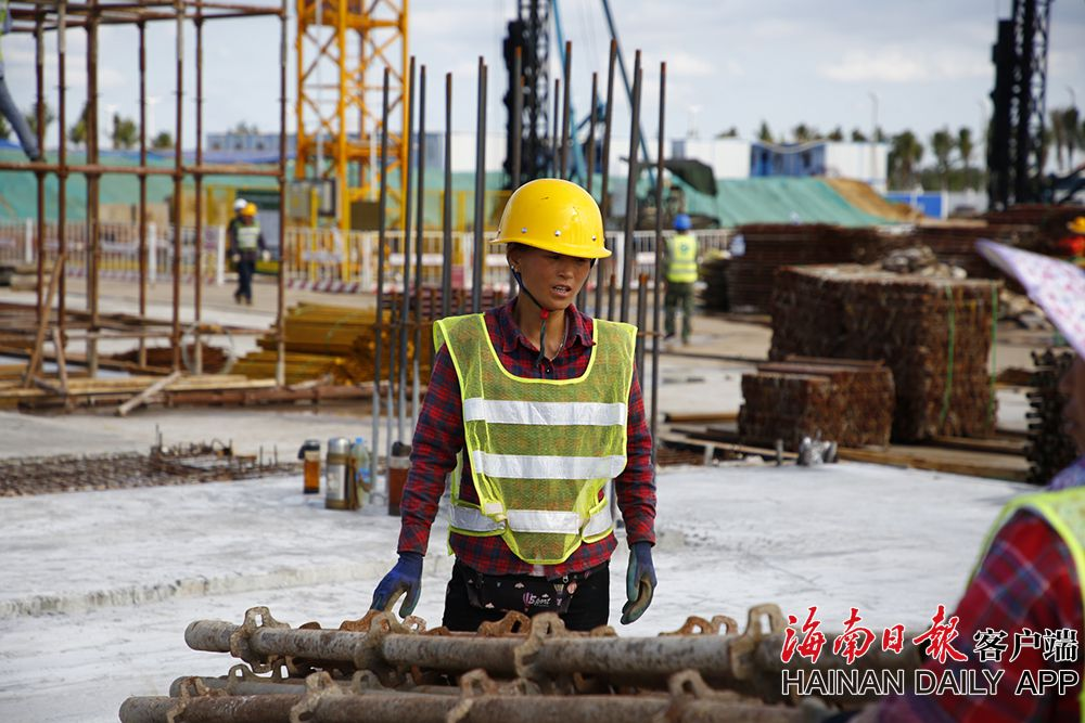 海口哈罗学校建设不拖进度
