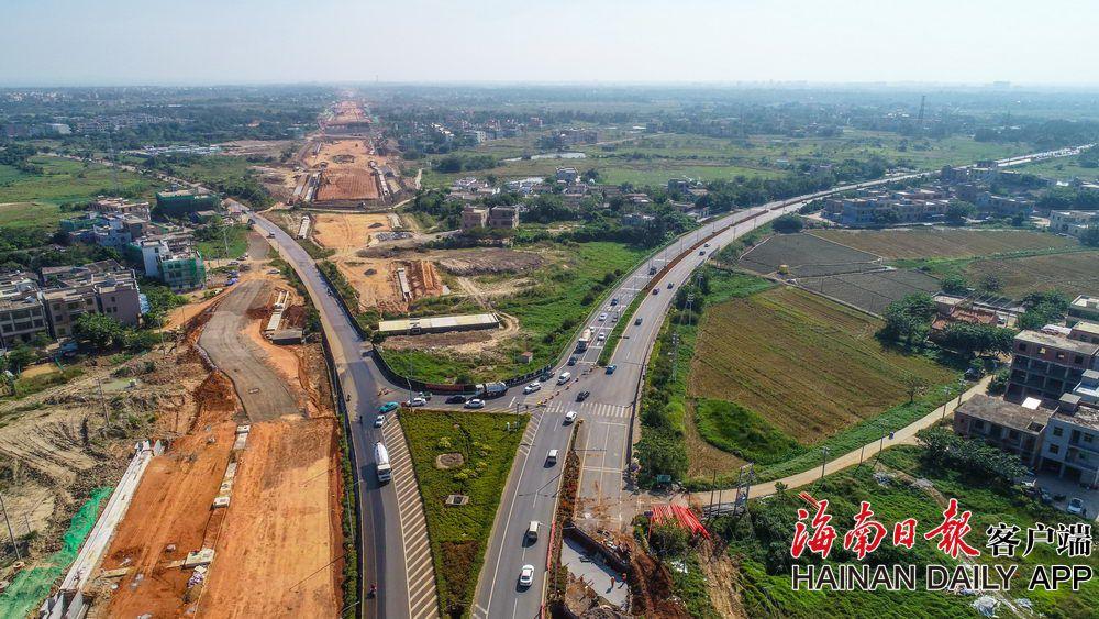 白驹大道改造及东延长线项目土建投资额过半