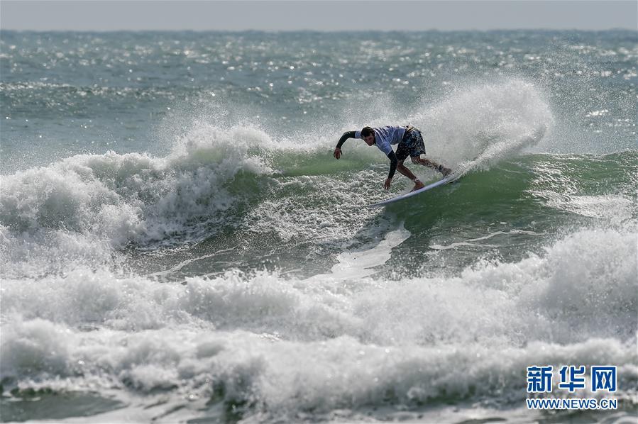 冲浪——2019海南公开赛开赛