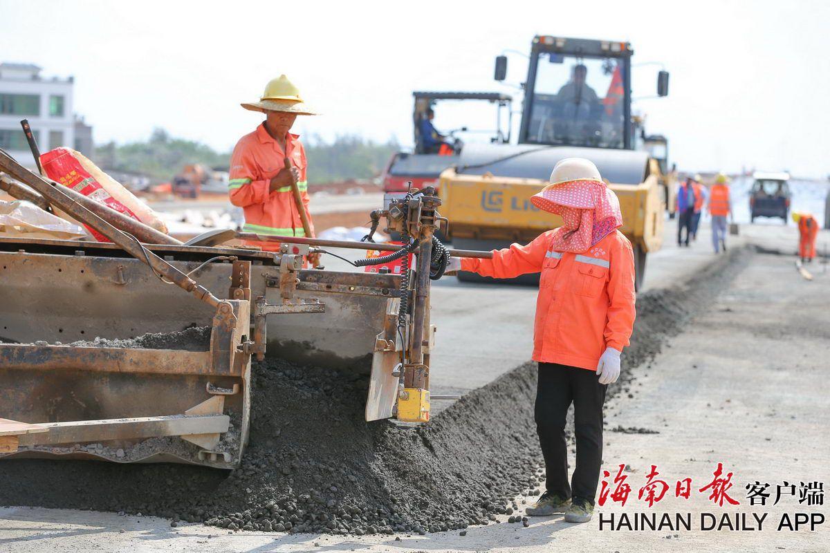 海口:白驹大道延长线完成投资13.29亿元