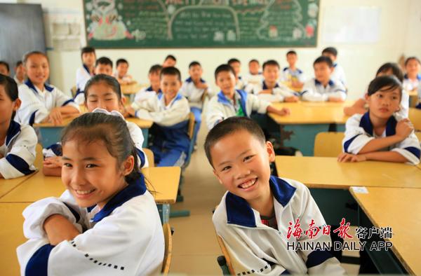 海南今年秋季起各市县学校不得新增大班额和超大班额