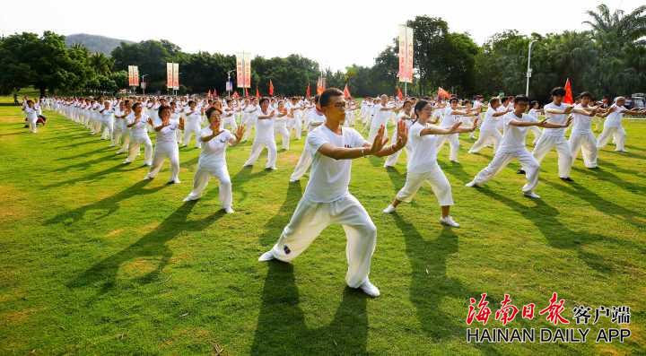 第三届世界太极文化节将在三亚举行 上万名太极拳爱好者参加