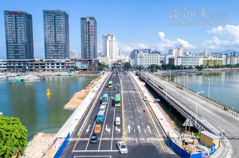 新三亚大桥6月1日正式通车 可提高30%通行能力