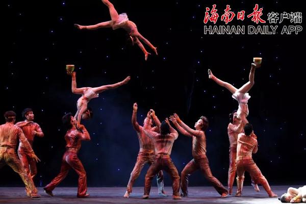 中国杂技团建团60周年献礼剧目《天地宝藏》七月中旬来琼上演