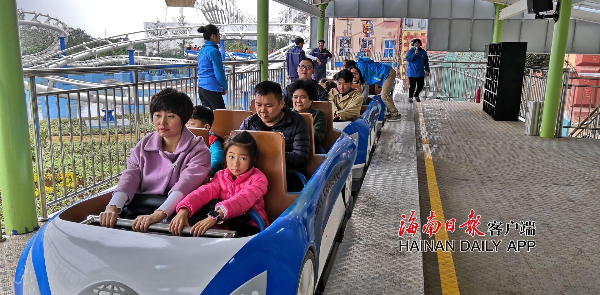 游乐园、听电音……海口举办多项活动陪市民游客跨年