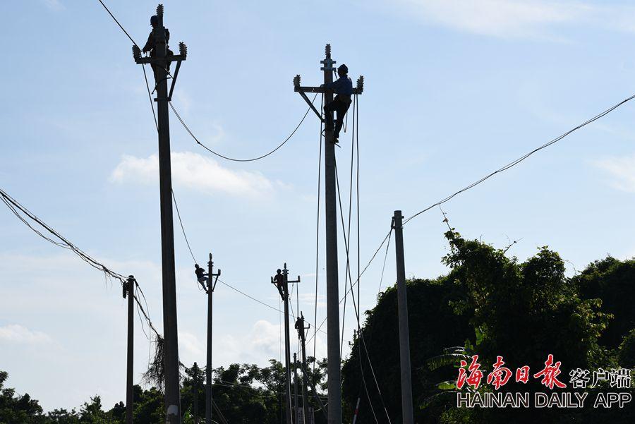 海口:实施电网升级改造 助力脱贫攻坚
